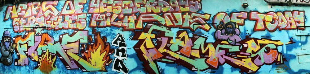 Fire and Flames Graffiti