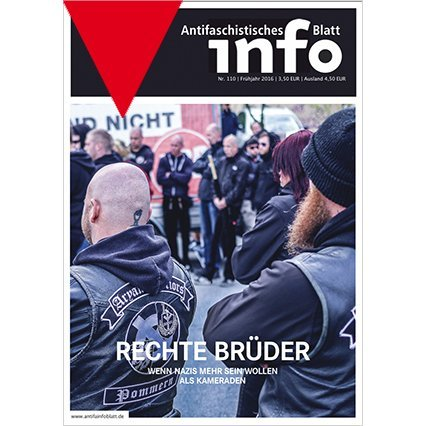 Antifaschistisches Infoblatt #110 (Spring 2016)