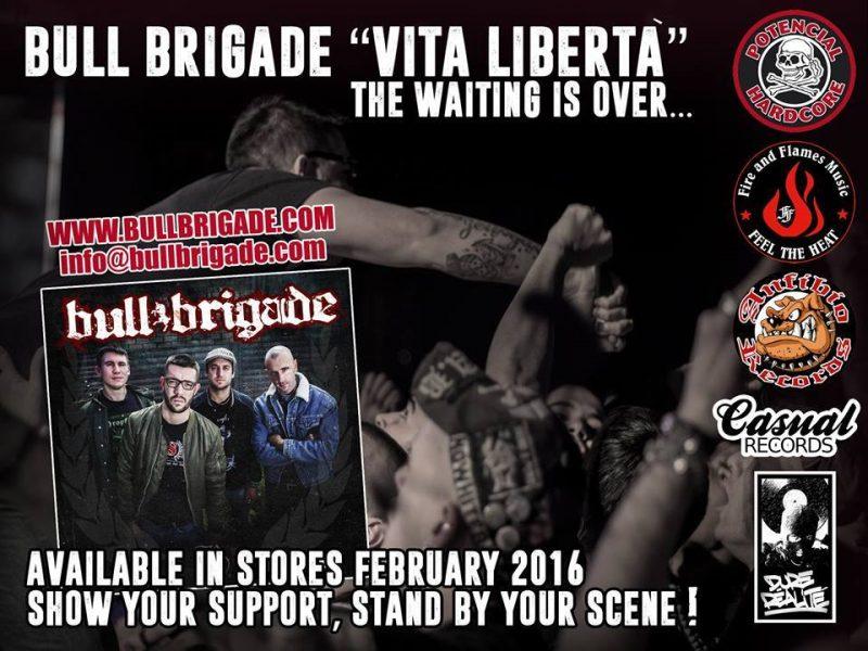 """Bull Brigade """"Vita Libertà"""" CD Out Now! (FFM042)"""