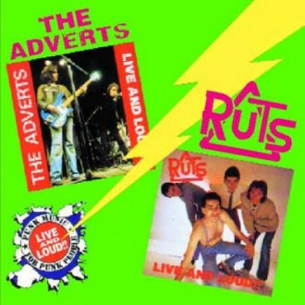 Adverts, The  The Ruts - Live and Loud CD