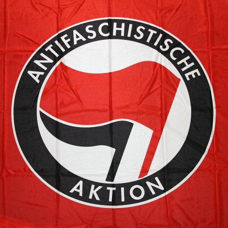 Antifaschistische Aktion Flag (red)