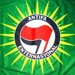 Antifa Enternasyonal Fahne