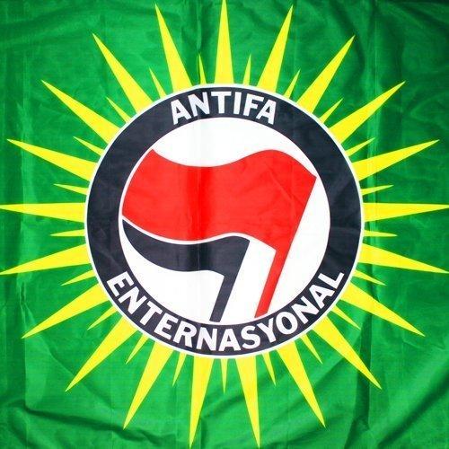 Antifa Enternasyonal Flag