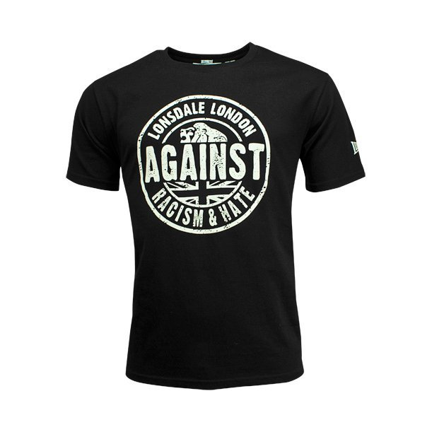 "Lonsdale ""Against Racism"" Shirt"