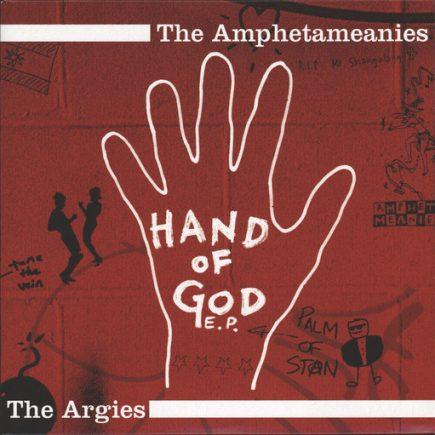 Amphetameanies, The  The Argies - Hand of god EP