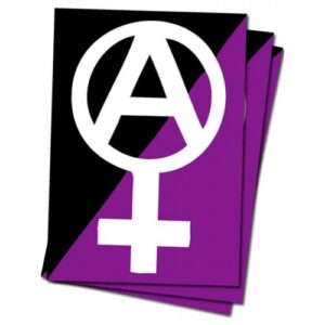 Anarchafeminismus – Sticker