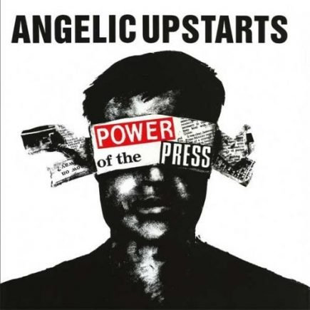 Angelic Upstarts - Power of the press LP
