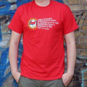 """""""Berxwedan"""" T-Shirt (rot)"""