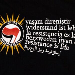 """Berxwedan"" T-Shirt (schwarz)"