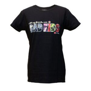 """Bad Kids"" Tailliertes Shirt"