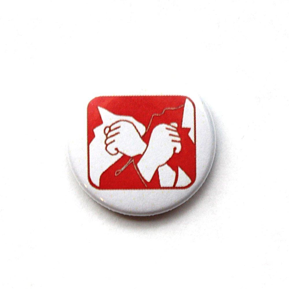 Rote Hilfe – Button