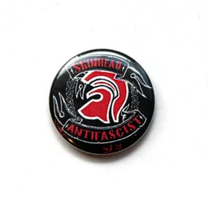 Skinhead Antifascist – Button