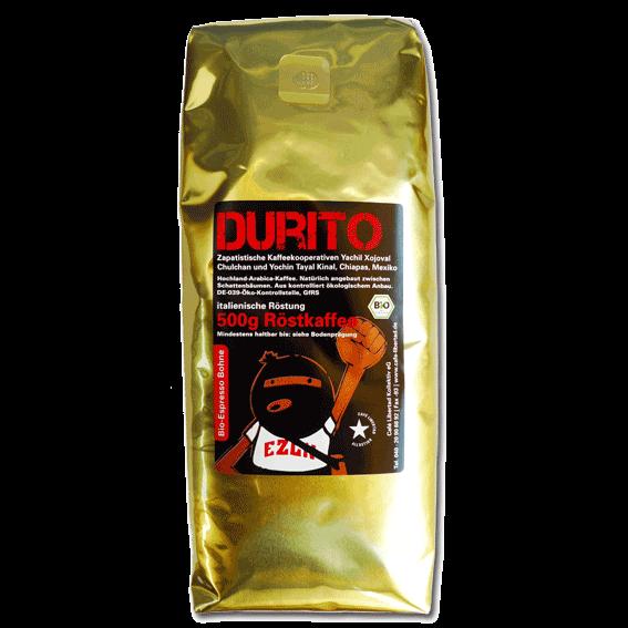 Bio-Espresso Durito 500g beans