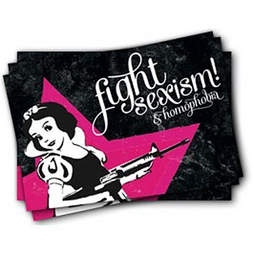 Fight Sexism & Homophobia – Stickers