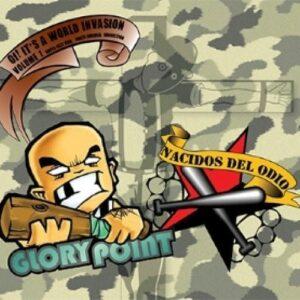 Glory Point / Nacidos del Odio – Oi! It's a world invasion Vol. 1 Split CD