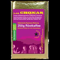 Bio-Espresso Las Chonas ital. Röst. 250g gemahlen