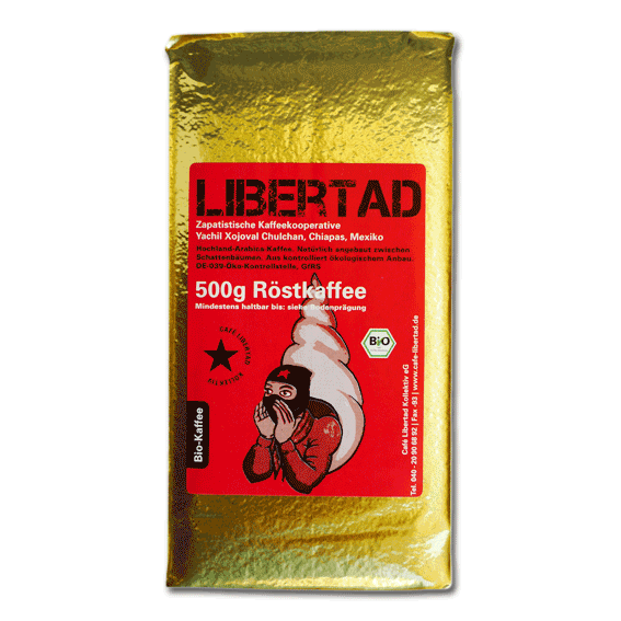 Bio-Café Libertad 500g ground