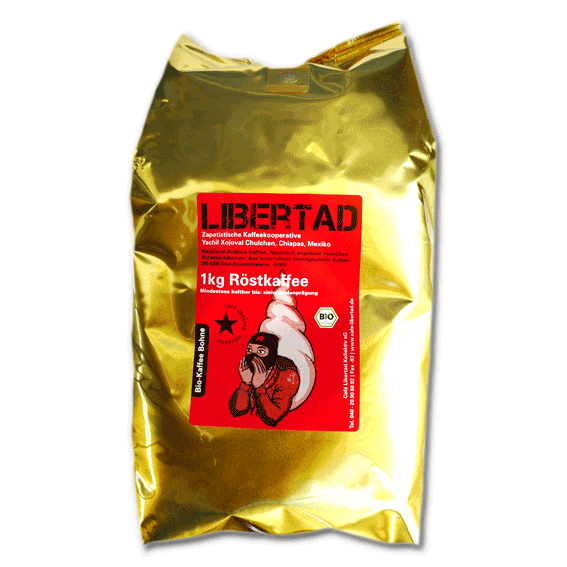 Bio-Café Libertad 1kg beans