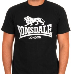 "Lonsdale ""Logo"" T-Shirt (schwarz)"
