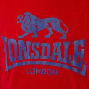 "Lonsdale ""Logo"" T-Shirt (rot)"
