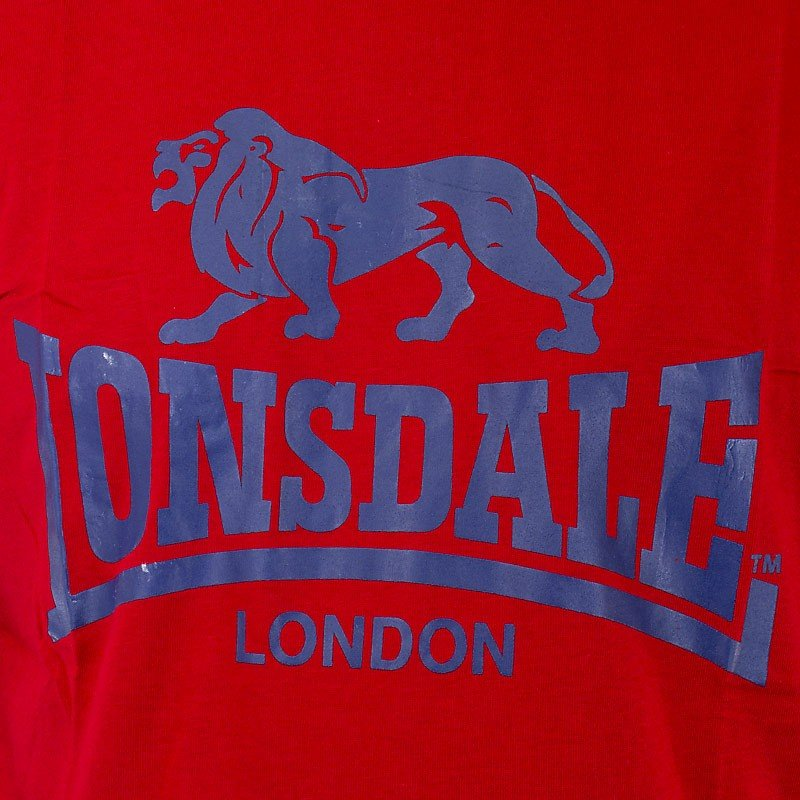 "Lonsdale ""Logo"" Shirt (red)"