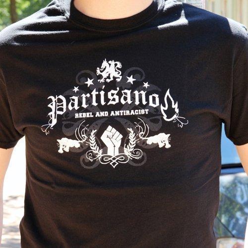 """Partisano """"Rebel and Antiracist"""" Shirt"""