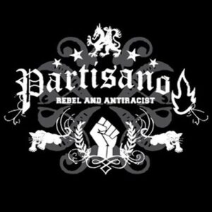 "Partisano ""Rebel and Antiracist"" T-Shirt"