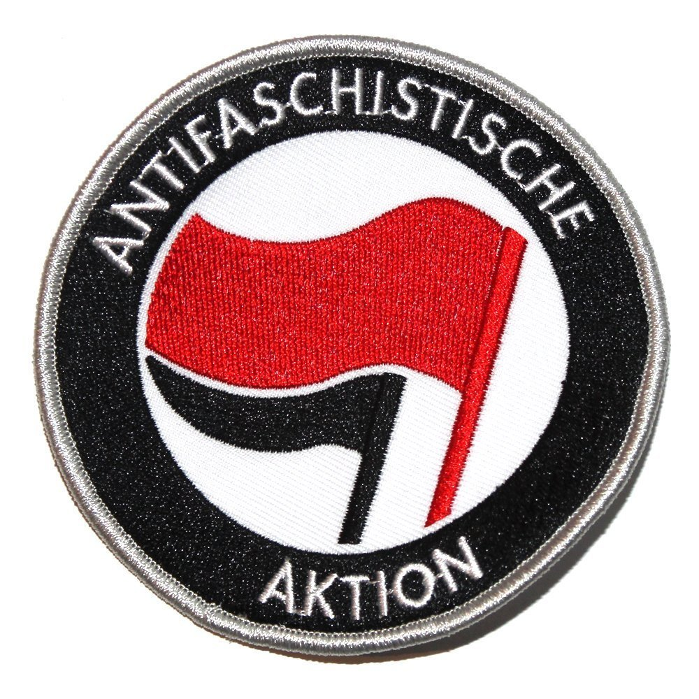 Antifaschistische Aktion – Patch (red/black)
