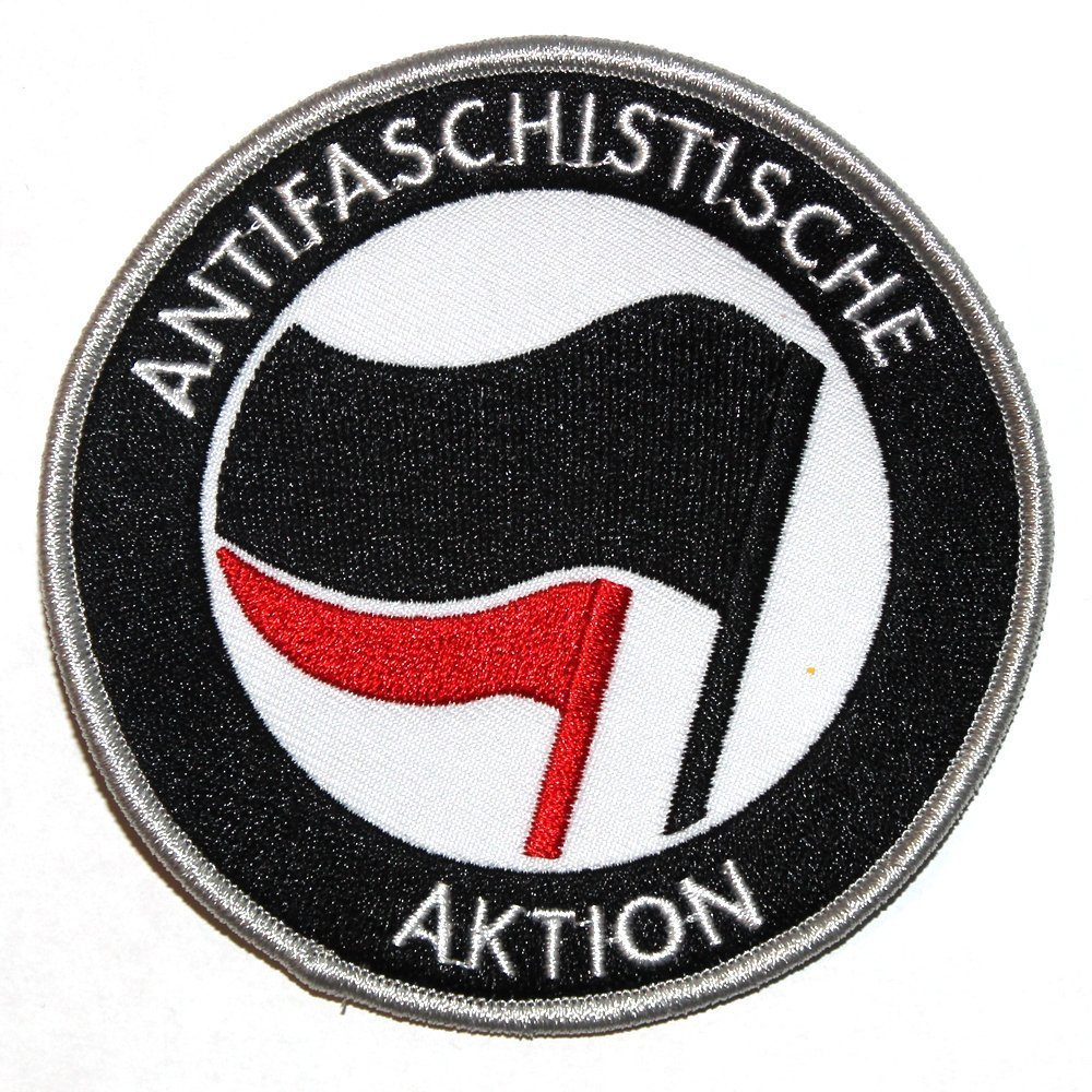 Antifaschistische Aktion – Patch (black/red)