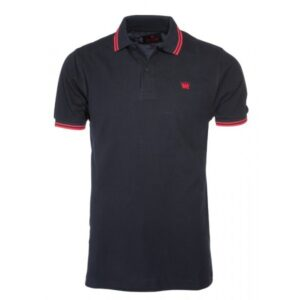 "Kings League ""Polo Shirt"" (schwarz/rot)"