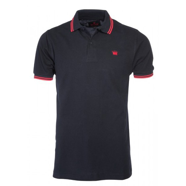 "Kings League ""Polo Shirt"" (black/red)"