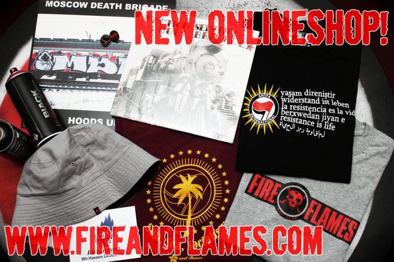 """""""Fire and Flames 1 : Technische Probleme 0"""" oder: Willkommen im neuen Shop!"""