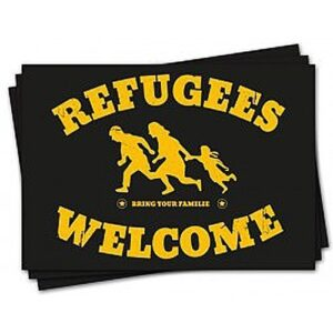 Refugees Welcome – Sticker