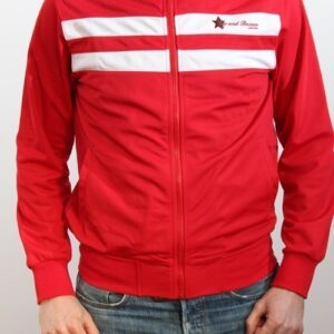 """Retro Red"" Trainingsjacke"