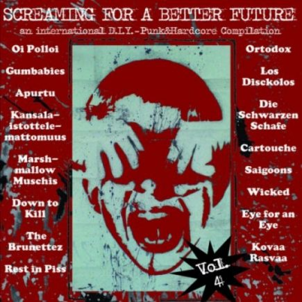 Screaming for a better future Vol. 4 LP