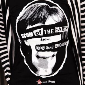 """Scum of the Earth"" Tailliertes Shirt"