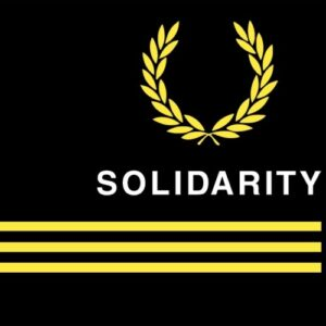 """Solidarity"" Tailliertes Shirt"
