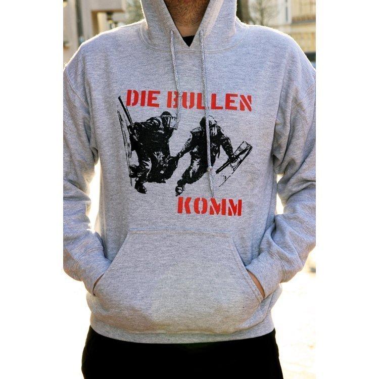 """Die Bullen """"CfA"""" Hoodie (grey)"""