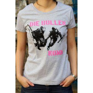 """Die Bullen """"CfA"""" Tailliertes Shirt (grau)"""