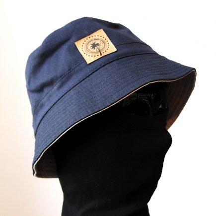 bucket-hat-sun-sea-blue-white