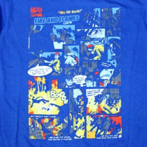 """Comic Strip"" T-Shirt (blau)"