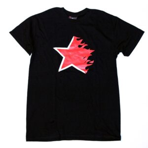 """Flaming Star"" T-Shirt (black)"