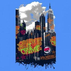 """Graffiti Crime"" T-Shirt (Day)"