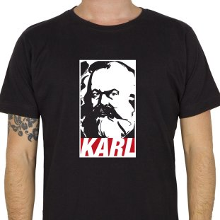 """Fairdruckt """"Karl"""" T-Shirt (schwarz)"""