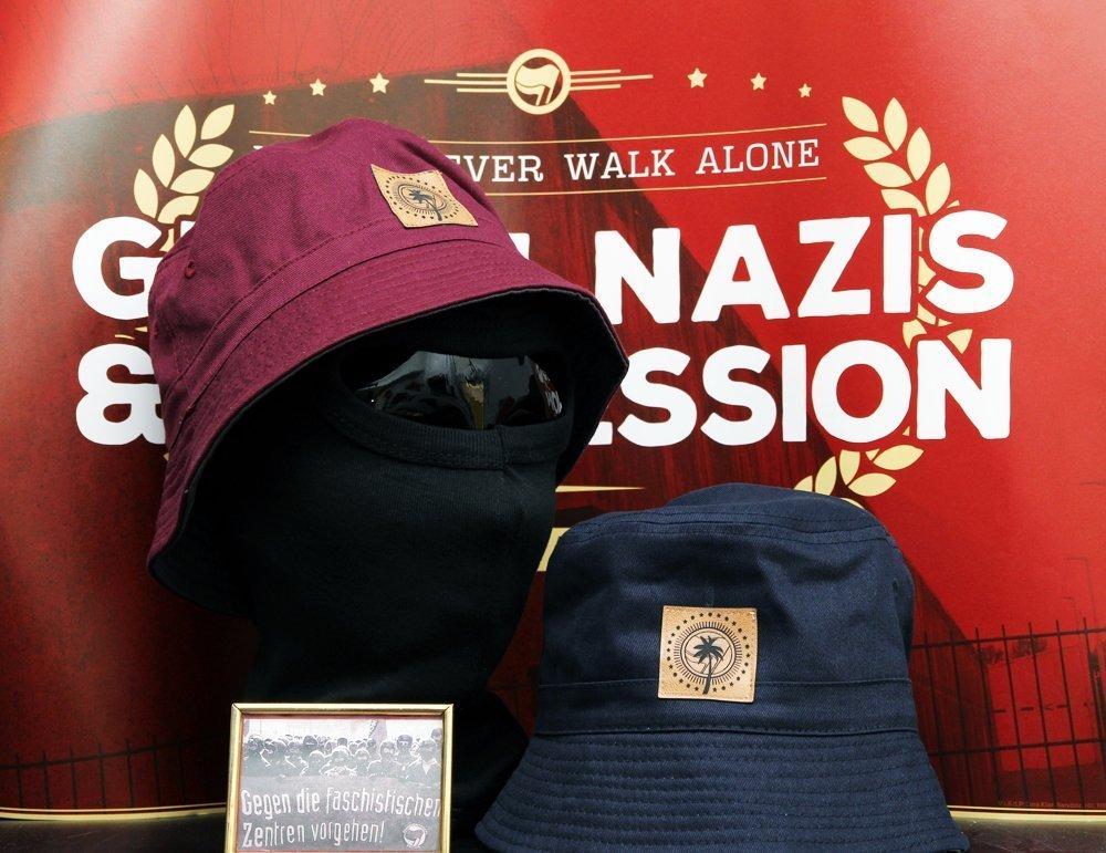"[NEW IN STORE] ""Sun, Sea, Socialism"" Reversible Bucket Hat"