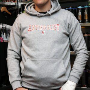 """""""Antifa Always"""" Hoodie (grau)"""