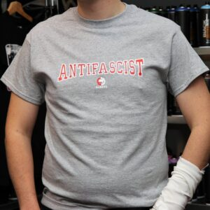 """Antifa Always"" T-Shirt (grau)"