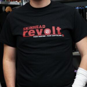 """Skinhead Revolt"" T-Shirt"