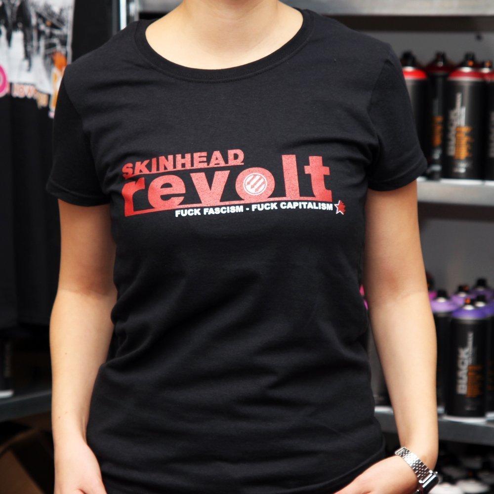 """Skinhead Revolt"" Ladies Shirt"