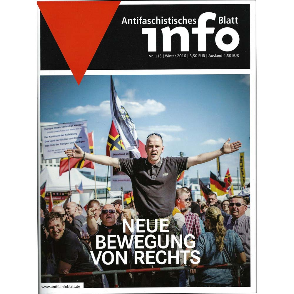 Antifaschistisches Infoblatt #113 (Winter 2016)